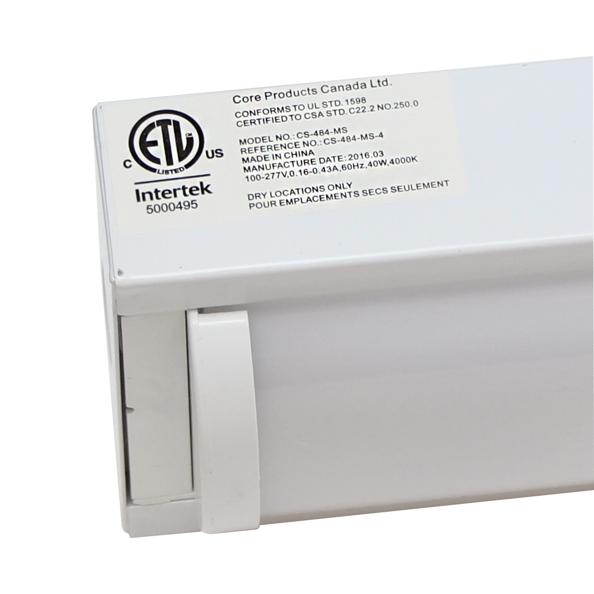 Commercial Lighting Manufacturers Usa: LED Commercial Strip W/ Motion Sensor 40W