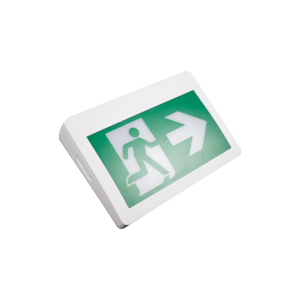 Premise LED Self Powered Running Man Exit Sign Plastic