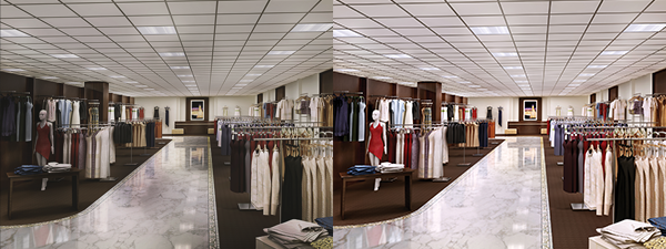 Importance of Light Uniformity in Retail