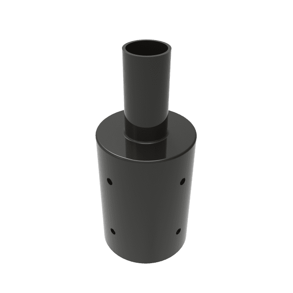 "Tenon Adapter for 4"" Round Poles"