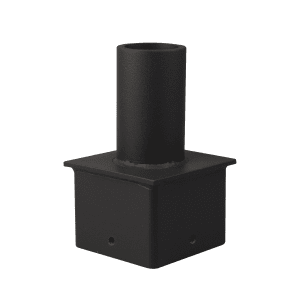 "TENON ADAPTER, FOR 4"" SQUARE POLES"