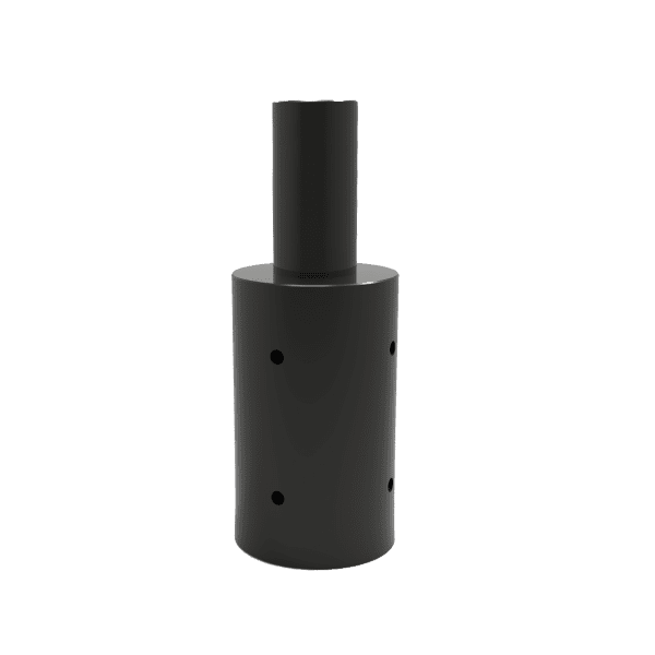 """Tenon Adapter for 5"""" Round Poles"""