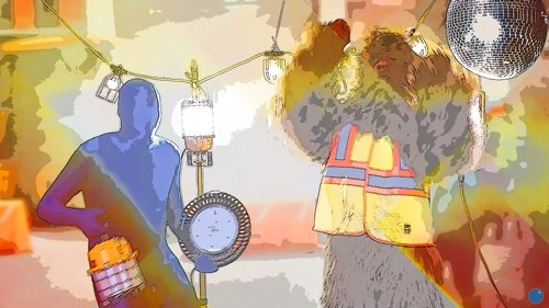 Awesome Video: Work Lights